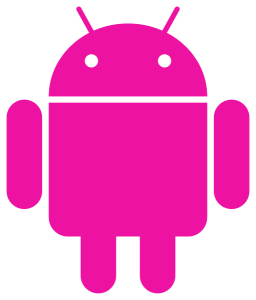 Pink Android Robot