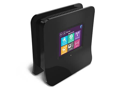 a touchscreen wireless router